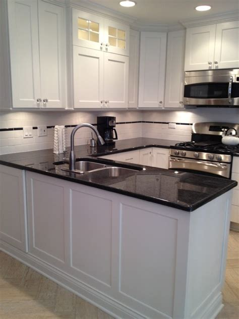 small c shaped kitchen designs small u shaped white custom painted kitchen in skokie