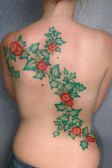 tattoo flower and vine designs 36 elegant vine tattoos flower rose vines