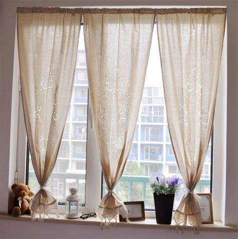 curtains for 9 ft wide window 1000 ideas about short window curtains on pinterest