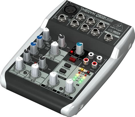 Behringer Xenyx Q802 Usb Mixer behringer xenyx q502usb keymusic