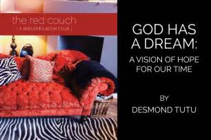 the red couch book the red couch book club god has a dream kelley