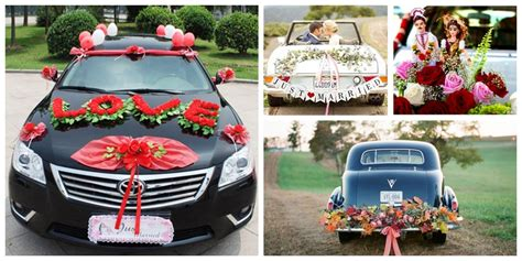 wedding car decoration ideas