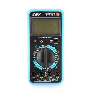 Digital Multimeter Chy Dt 9810 chy dt9205 1999 count digital multimeter 1000v dc