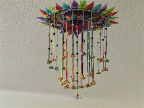 Hanging Paper Crafts - creative diy crafts paper plate hanging craft with