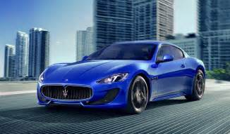 Blue Maserati Granturismo Maserati Is A Luxury Car Brand That Has Lately Made