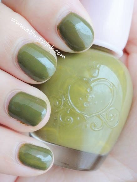 Etude House Nails Dgr704 review etude house nail dgr704 only olive