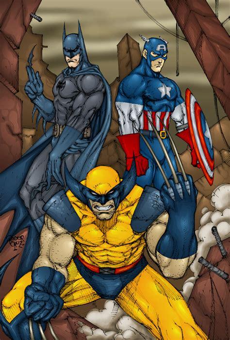 The Prestige A Reviewits Batman Vs Wolveri by Snake Spider Vs Batman Cap Wolverine Battles