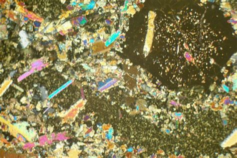 Eclogite Thin Section by Retrograde Eclogite California Usa Thin Section