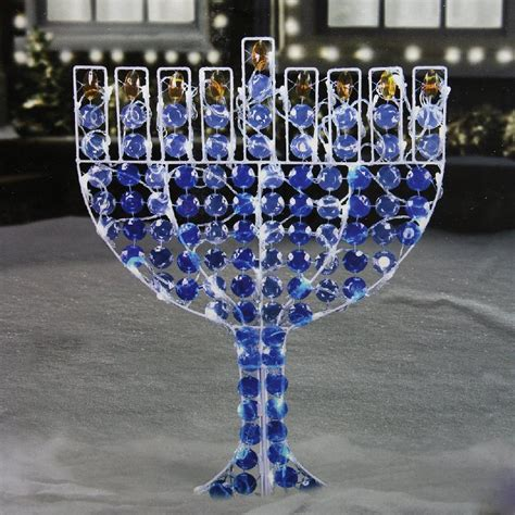 Hanukkah Outdoor Decorations Lights Outdoor Lawn Inflatables Lights And Decorations For Hanukkah Infobarrel