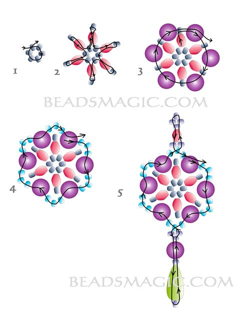 beaded earrings patterns free pattern for beaded earrings magic