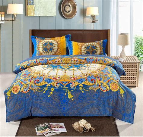 aliexpress com buy bohemian bedding set thicken cotton