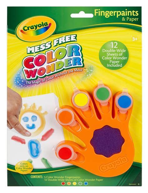 crayola color fingerpaint