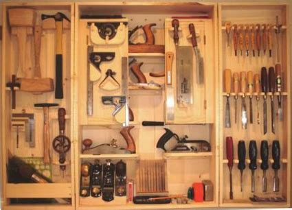 Vintage Plywood Chair Resources For Designing A Custom Tool Cabinet Unclutterer