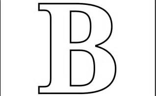 Letter B Template by Letter B Formal Letter Template