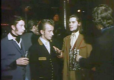 Drape Jacket Teddy Boy Watch Footage Of 1970s Teddy Boys And Girls As New