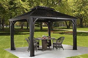 Best Outdoor Canopy by Top 10 Outdoor Canopy Gazebo Reviews For 2016