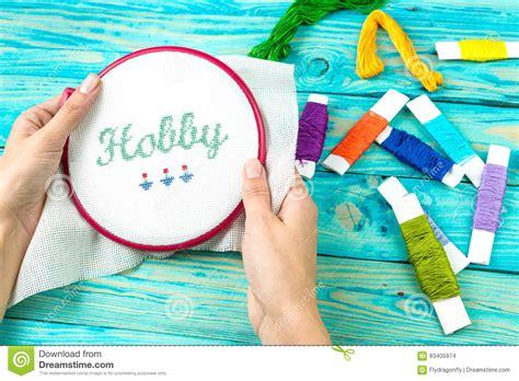 Handmade Hobby - handmade hobby work stock photo image 63405974