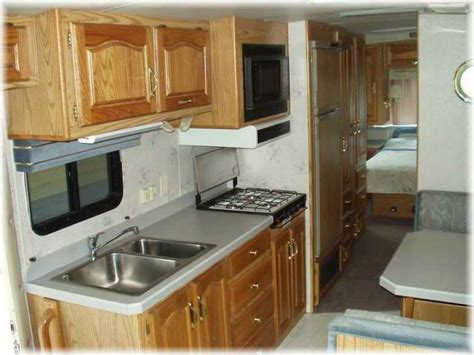 Rv Kitchen Cabinets by 29 Excellent Motorhome Kitchen Cabinets Fakrub