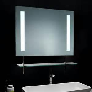 Badezimmerspiegel Mit Beleuchtung Wandspiegel Badezimmerspiegel Beleuchtung Inkl Ablage