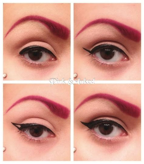 tutorial eyeliner simple simple winged eyeliner tutorial i made eyebrows the