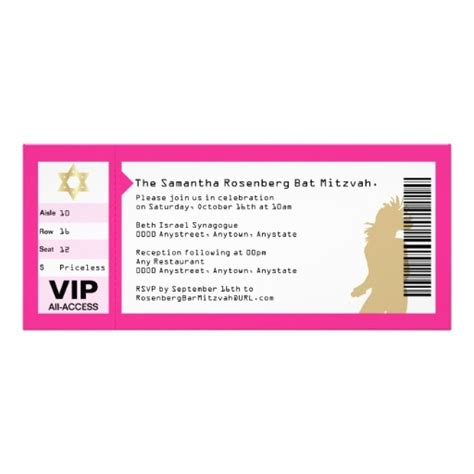 6 best images of blank concert ticket invitation free