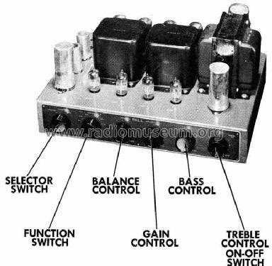 Sound System Bell Up 3 d l mixer bell sound systems columbus oh build 1954 n