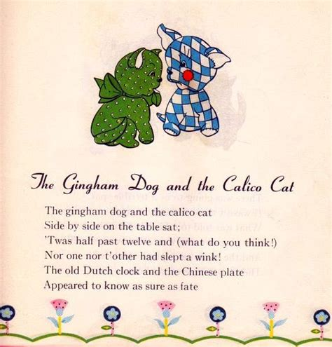 the gingham and the calico cat 1000 images about the gingham and the calico cat quot the duel quot a child s poem on