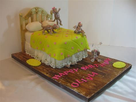 monkeys on the bed monkeys jumping on the bed cakecentral com