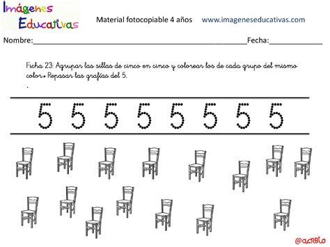 imagenes educativas material fotocopiable 5 años cuadernillo 40 actividades eduaci 243 n preescolar 4 a 241 os