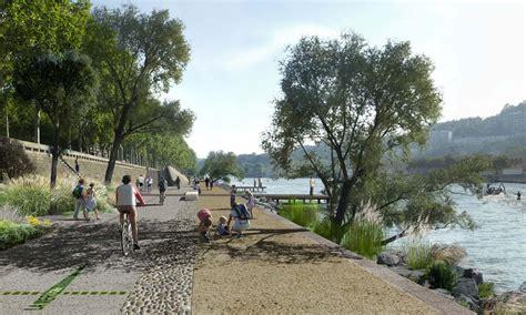 Landscape Architecture Perspective Perspective Insitu Berges Du Rhone 02 171 Landscape