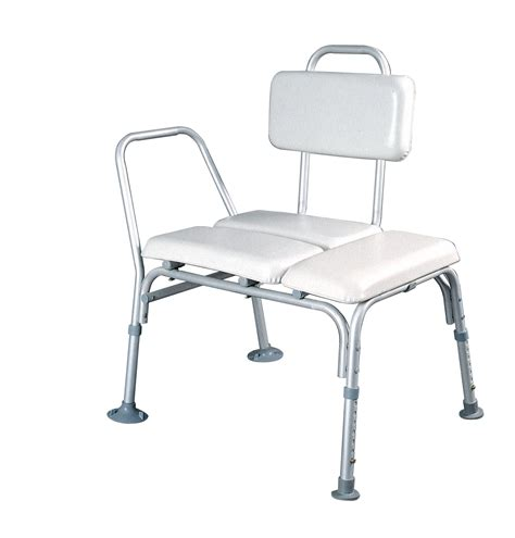 padded shower transfer bench crescent healthcare