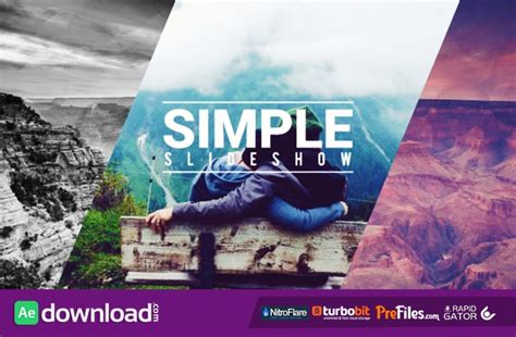 Simple Fast Slideshow Videohive Free Download Free After Effects Template Videohive Projects Free After Effects Slideshow Templates