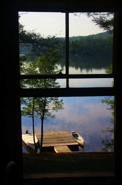 window with a view lake view maine photo via at the lake lakes summer and window