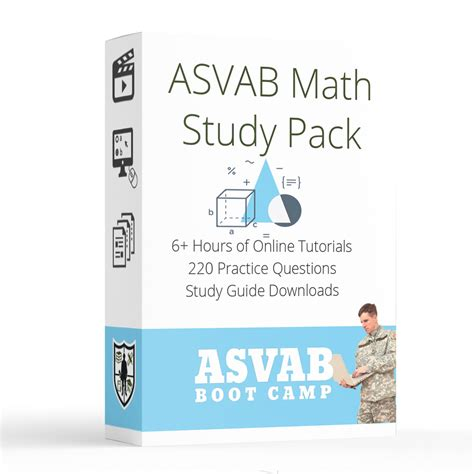 asvab test sections asvab math pack