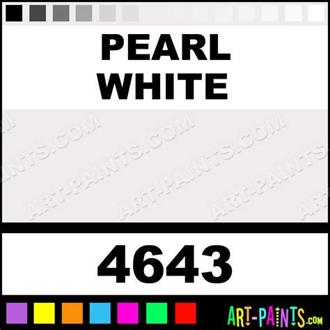pearl white colors fabric textile paints 4643 pearl white paint pearl white color folkart