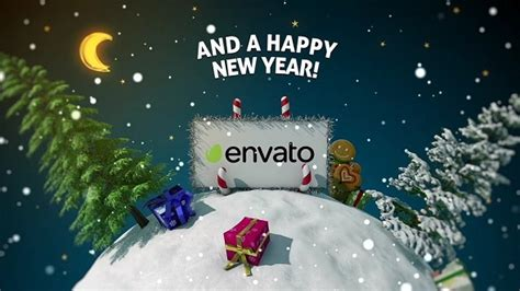 new year 2016 after effects template new year card 3d holidays after effects templates f5