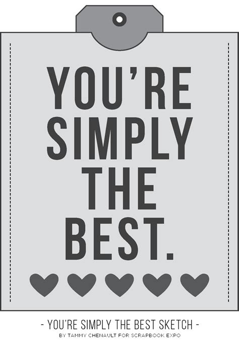 your simply the best you re simply the best card free cut file st