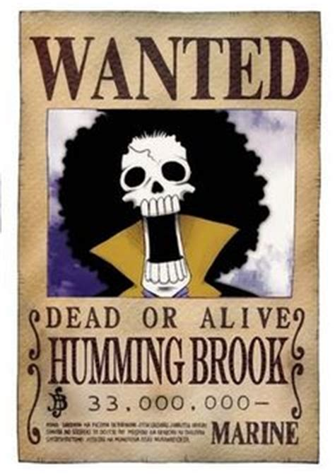 Kaos Anime Brook Wanted One Bounty 1000 images about one bounties on one chopper and one