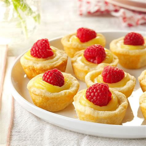 mini lemon cheesecake tarts recipe taste of home