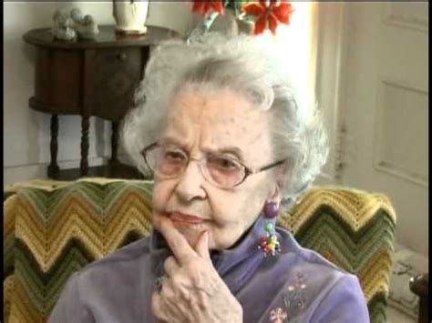 old ladies fern groh s interview at 103 years old youtube