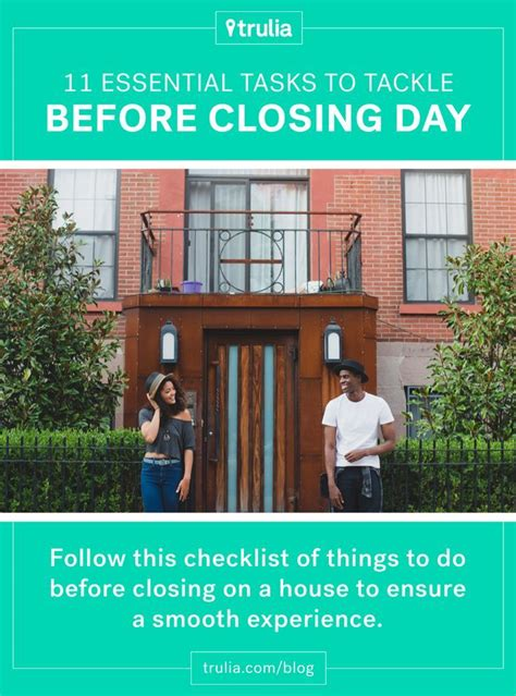 House Closing by 11 Things To Do Before Closing On A House Real Estate