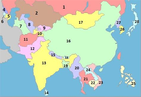 asia map test enter answers into input boxes then click grade my quiz