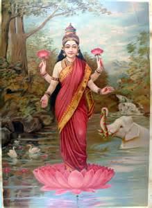 lakshmi wealth ritual and foot soak