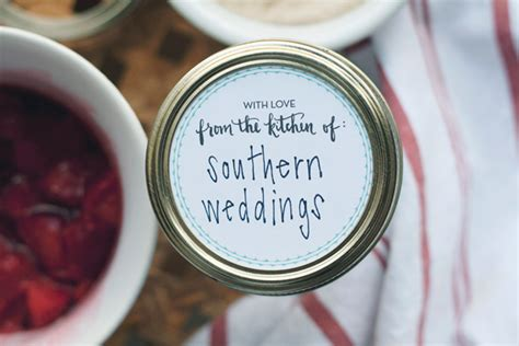 free printable wedding jar labels thanks to our friends at yours is the earth for sharing