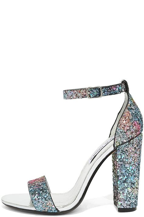 steve madden sparkly high heels steven madden carrson glitter glitter heels ankle