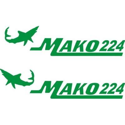 mako boats decals mako 224 boat logo decals