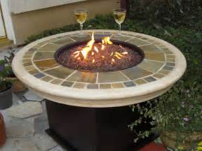 Patio Table With Firepit Table Pit Ftgs81161