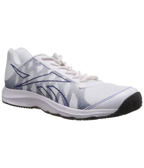 reebok mens sports shoes reebok reestart mens sports shoes white price in india