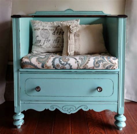 dresser turned into a bench 50 astonishing furniture hacks every diy person must know