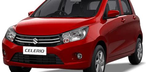 Maruti Suzuki Car Model Names All Maruti Celerio Models Available With Abs And Dual Airbags